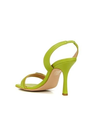 Divarese 5025420 Kadın Sandalet Yeşil